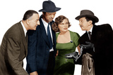 THE ASPHALT JUNGLE, from left: Louis Calhern, Sterling Hayden, Jean Hagen, Sam Jaffe, 1950 Photo