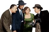 THE ASPHALT JUNGLE, from left: Louis Calhern, Sterling Hayden, Jean Hagen, Sam Jaffe, 1950 Photo