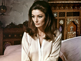 JUSTINE, Anouk Aimee, 1969 Photographie