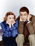 THE SHOP AROUND THE CORNER, from left: Margaret Sullavan, James Stewart, 1940 Photo