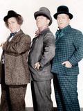 PHONY EXPRESS, from left: Larry Fine, Moe Howard, Curly Howard, (aka The Three Stooges), 1943 Photo