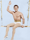 THE STORY OF THREE LOVES, Kirk Douglas in 'Equilibrium' segment, 1953 Prints