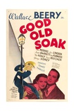THE GOOD OLD SOAK, from left: Wallace Beery, Betty Furness, Eric Linden, 1937 Posters