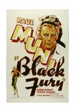 BLACK FURY, Paul Muni, 1935 Poster