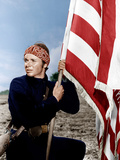 THE RED BADGE OF COURAGE, Audie Murphy, 1951 Photographie