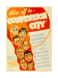 CONVENTION CITY Poster