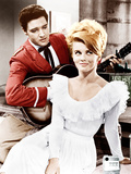 VIVA LAS VEGAS, from left: Elvis Presley, Ann-Margret, 1964. Prints