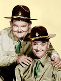 GREAT GUNS, from left: Oliver Hardy, Stan Laurel [aka Laurel and Hardy], 1941. Photo