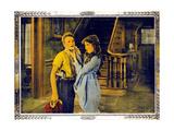 POLLYANNA, l-r: Howard Ralston, Mary Pickford on lobbycard, 1920. Kunst