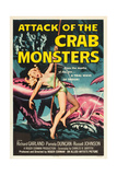 ATTACK OF THE CRAB MONSTERS, poster art, 1957. Prints