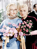 HOW TO MARRY A MILLIONAIRE, from left: Marilyn Monroe, Betty Grable, 1953. Photo