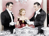 JEZEBEL, from left: Henry Fonda, Bette Davis, George Brent, 1938 Posters