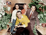 INVASION OF THE BODY SNATCHERS, from left: Dana Wynter, King Donovan, Carolyn Jones, Kevin McCarthy Print
