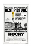 ROCKY, (poster art), Sylvester Stallone, 1976 Reprodukcje
