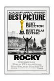 ROCKY, (poster art), Sylvester Stallone, 1976 Kunstdrucke