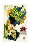 HALF MARRIAGE, 1929 Print
