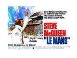 LE MANS, Steve McQueen, 1971. Kunstdrucke