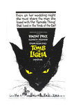 TOMB OF LIGEIA, (aka THE TOMB OF LIGEIA), US poster, 1964 Reprodukcje