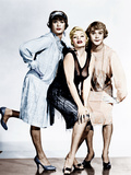 SOME LIKE IT HOT, from left: Tony Curtis, Evelyn Moriarty (Marilyn Monroe's stand-in), Jack Lemmon Láminas