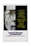 STRAW DOGS, US poster, Dustin Hoffman, 1971 Prints