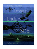 Twenty-Thousand Leagues Under the Sea Posters by Brixton Doyle
