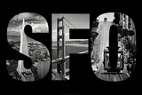 SFO San Francisco Images Archival Photo Poster Photo