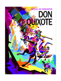Don Quixote Prints by Wedha Abdul Rasyid