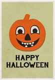 Happy Halloween Retro Print
