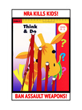 NRA KILLS KIDS! Posters by Robert