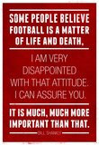 Bill Shankly Football Quote Sports Kunstdrucke