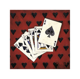 Royal Flush Giclee Print by Will Rafuse
