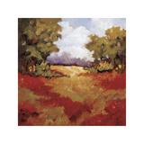 Scarlet Fields II Giclee Print by Maija Baynes