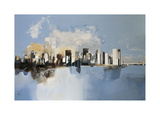 Manhattan, New York Giclee Print by Joan Farré
