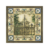 Garden Gate Giclee Print by Elizabeth Jardine