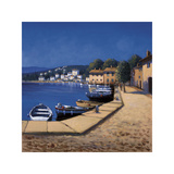 Seaside Promenade I Giclee Print by David Short