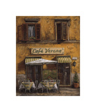 Cafe Verona Giclee Print by Malcolm Surridge