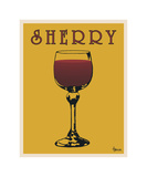 Sherry Giclee Print by Lee Harlem
