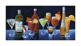 Cocktail Hour Giclee Print by Will Rafuse