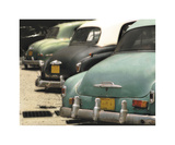 Cuban Cars IV Giclee Print by C. J. Groth