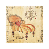 Crazy Chaise II Giclee Print by Elizabeth Jardine