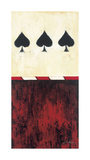 Three of Spades Giclee Print by Elizabeth Jardine