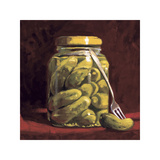 The Pickle Fork Giclee Print by Cathy Lamb