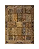 Golden Tapestry Giclee Print by Elizabeth Jardine