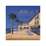 Seaside Promenade II Giclee Print by David Short