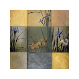 Iris Nine Patch Giclee Print by Don Li-Leger
