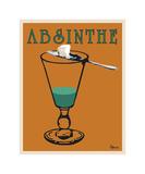 Absinthe Giclee Print by Lee Harlem