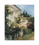 Garden in all its Splendor Giclee Print by Francisco Sillué