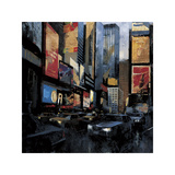 Times Square I Giclee Print by Marti Bofarull