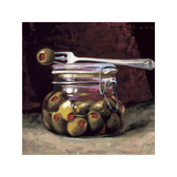 The Olive Jar Giclee Print by Cathy Lamb