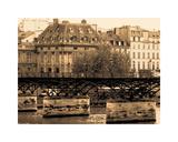 Pont des Arts Giclee Print by Marina Drasnin Gilboa